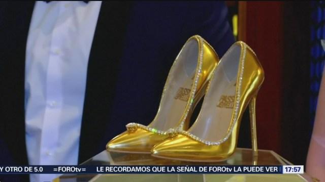 Dubai Presenta Zapatos Más Caros Del Mundo