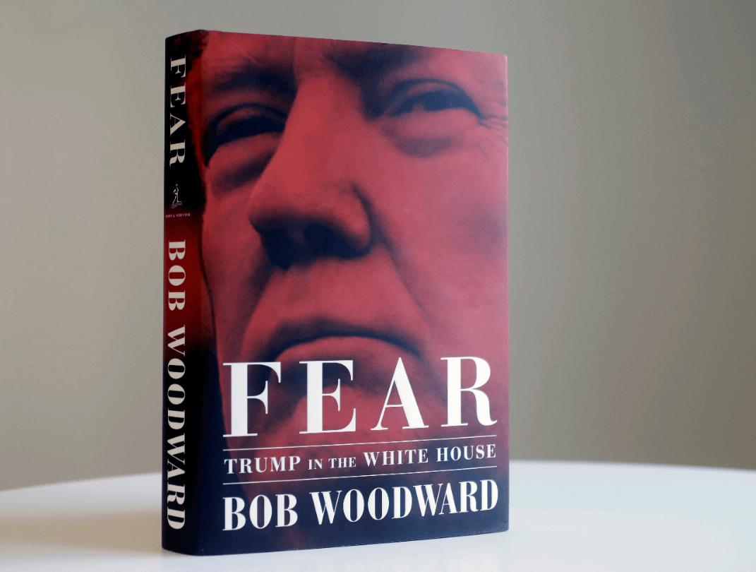 Trump carga contra el libro Miedo lo califica de estafa