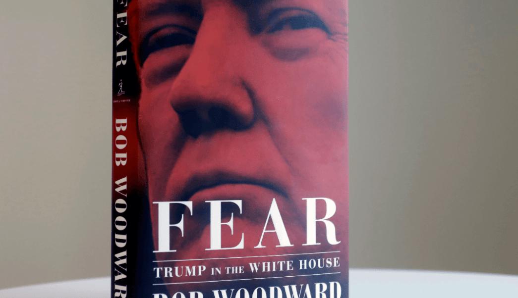 Trump carga contra el libro Miedo; lo califica de estafa