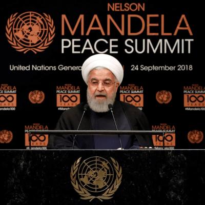 Presidente de Irán: Grandes líderes construyen 'puentes' y no 'muros'