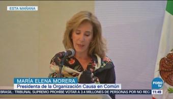 Elena Morera Policía requiere de las organizaciones civiles