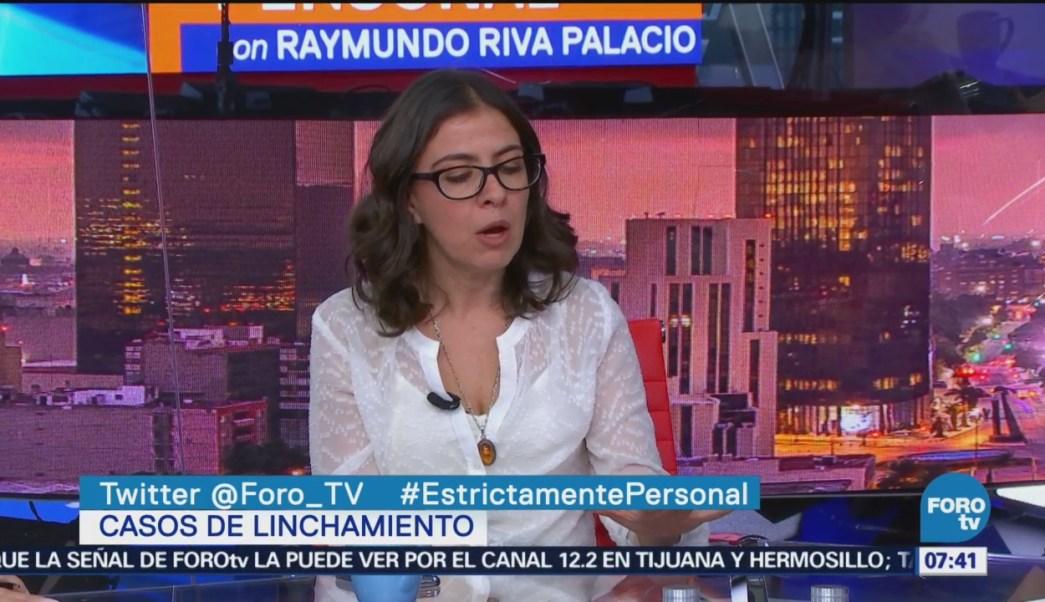 Elisa Godínez analiza linchamientos en Puebla e Hidalgo