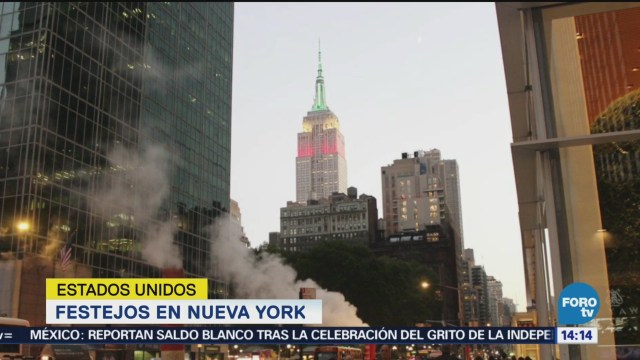 Empire State NY Celebra Independencia México