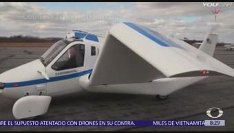 En octubre inicia la preventa del primer auto volador
