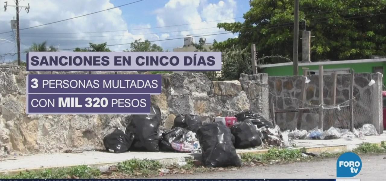 Entra En Vigor Ley Prohíbe Tirar Basura Yucatán