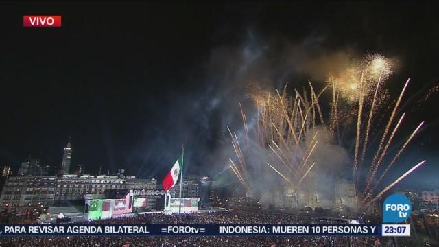EPN Encabeza Ceremonia Grito De Independencia