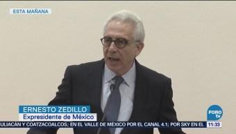Ernesto Zedillo presenta propuesta sobre política de drogas