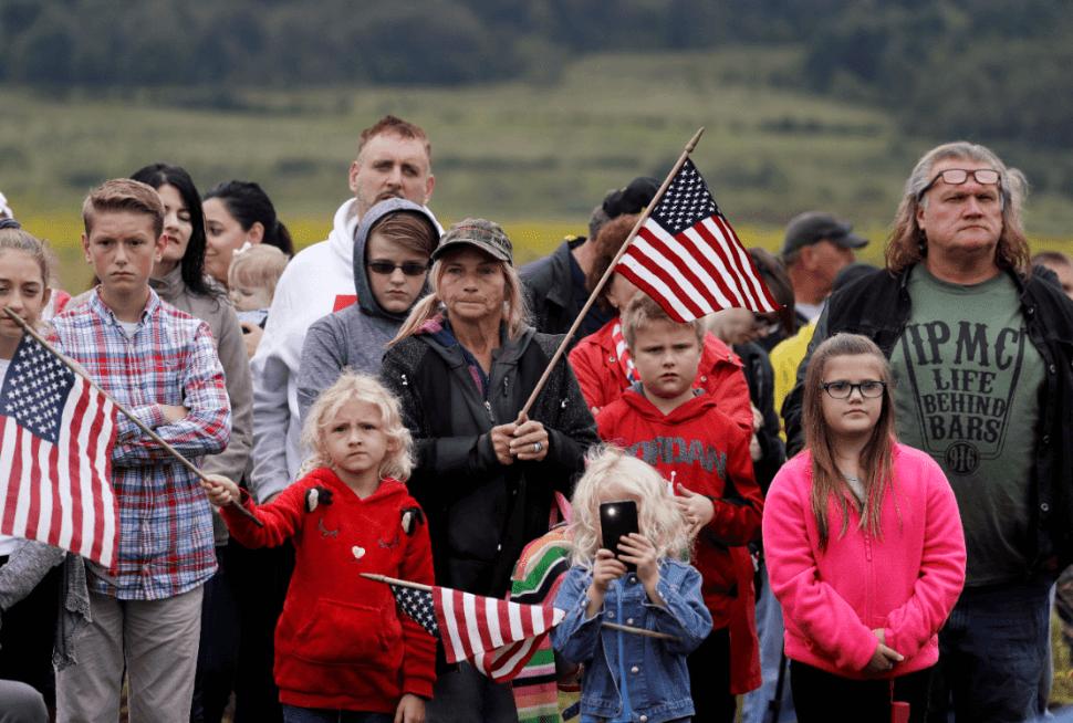 Estadounidenses recuerdan a víctimas de los atentados. (AP)