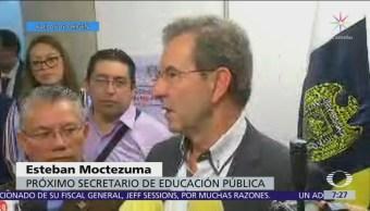 Esteban Moctezuma explica cómo procederá la cancelación