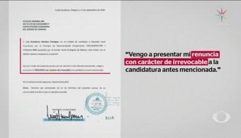 Exasistente de Manuel Velasco renuncia a ser diputado local