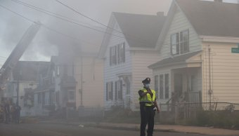 Explosiones de gas destruyen hoy casas en Massachusetts