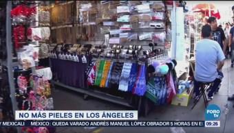 Los Ángeles prohibirá venta de pieles