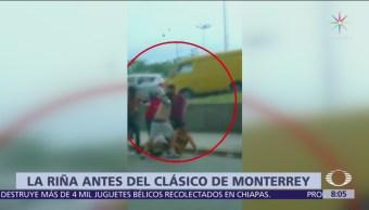 Fiscalía Nuevo León identifica tres atacantes de aficionado