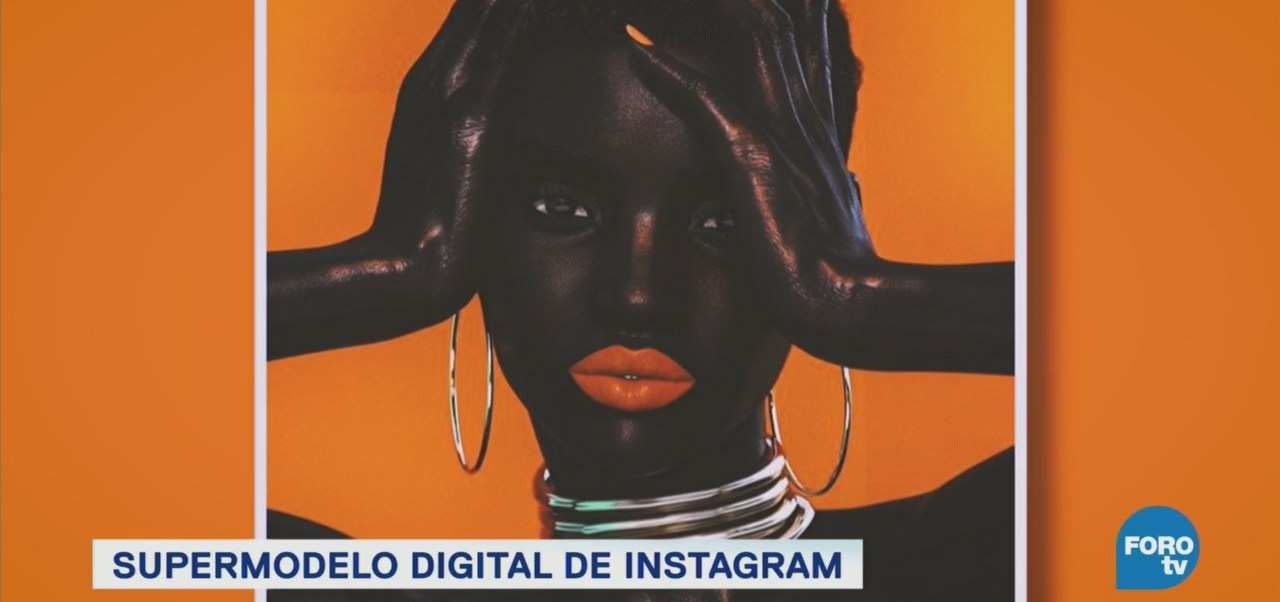 Supermodelo Digital Shudu Diseñada Por Computadora Miles De Seguidores Instagram