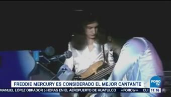 Freddie Mercury, mejor cantante de toda la historia