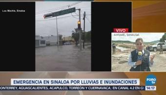 Funcionarios Federales Visitan Zonas Afectadas Sinaloa lluvias Inundaciones