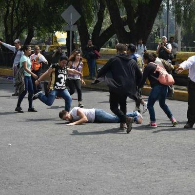 PGR analizará videos de la agresión a estudiantes de la UNAM en CU