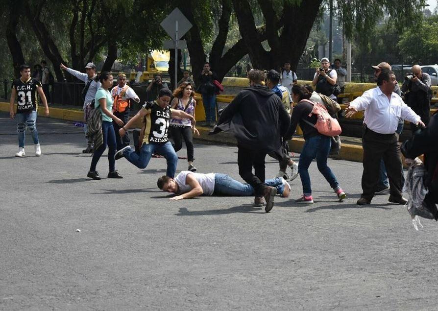 PGR analizará videos de la agresión a estudiantes de la UNAM