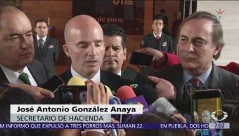 González Anaya defiende finanzas sanas al cierre del sexenio