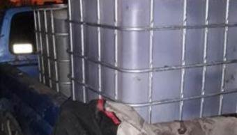 Robo de gasolina en Guanajuato; aseguran toma clandestina