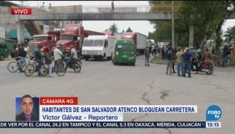 Habitantes San Salvador Atenco Protestan Contra Nuevo Aeropuerto CDMX