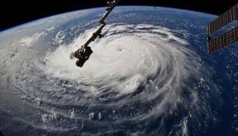 Así se ve desde el espacio el potente huracán 'Florence'