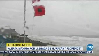 Huracán Florence afecta a Carolina del Norte