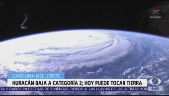 Huracán 'Florence' se degrada pero amenaza con fuertes lluvias