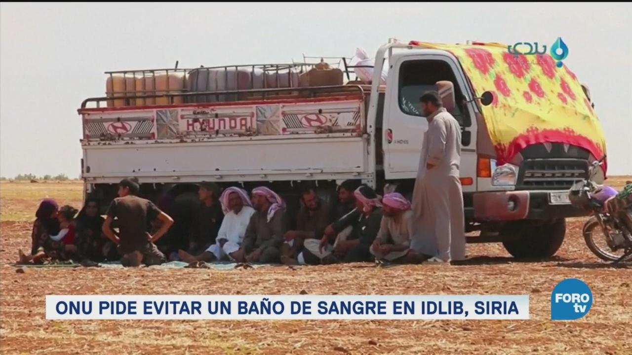 Idlib, al borde de la catástrofe