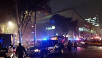 Incendio en Plaza Zentralia sale de control