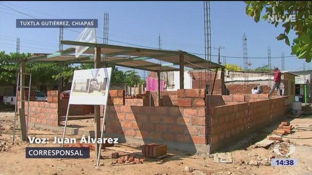 Inconformidad Chiapas Por Falta De Recursos Reconstrucción