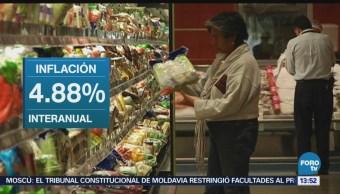 Inflación en México sube menos de lo esperado INEGI