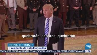 Informan sobre presunto boicot de funcionarios contra Trump