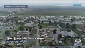 Intentan Impedir Nuevo Desbordamiento Río Lerma