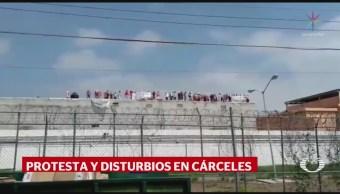 Internos Topo Chico Protestan Azotea Penal Denuncian Extorsiones