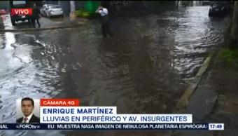 Inundación Periférico Tepepan