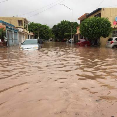 Solicitan declaratoria de desastre en Sinaloa; continuarán las lluvias