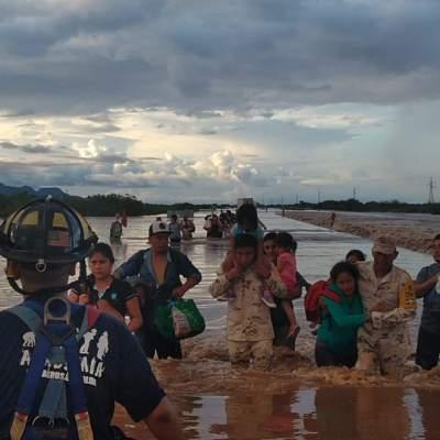 Activan Plan DN-III-E en Sonora por fuertes lluvias