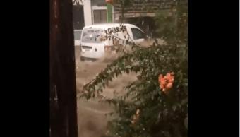 Lluvias del huracán Rosa afectan Los Cabos, BCS