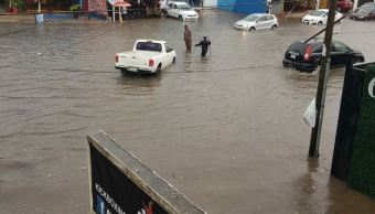 Zona de inestabilidad afecta con lluvias a Quintana Roo y Campeche