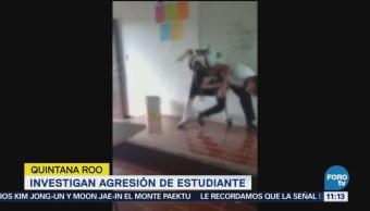 Investigan agresión de alumna en CECYTE de Quintana Roo
