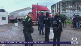 Joven rescata a perro de una nube de gas en Puebla