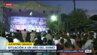 Juchitán Realiza Misa Fallecidos Sismo Del 7S