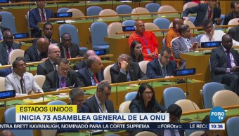 La 73 Asamblea General de la ONU