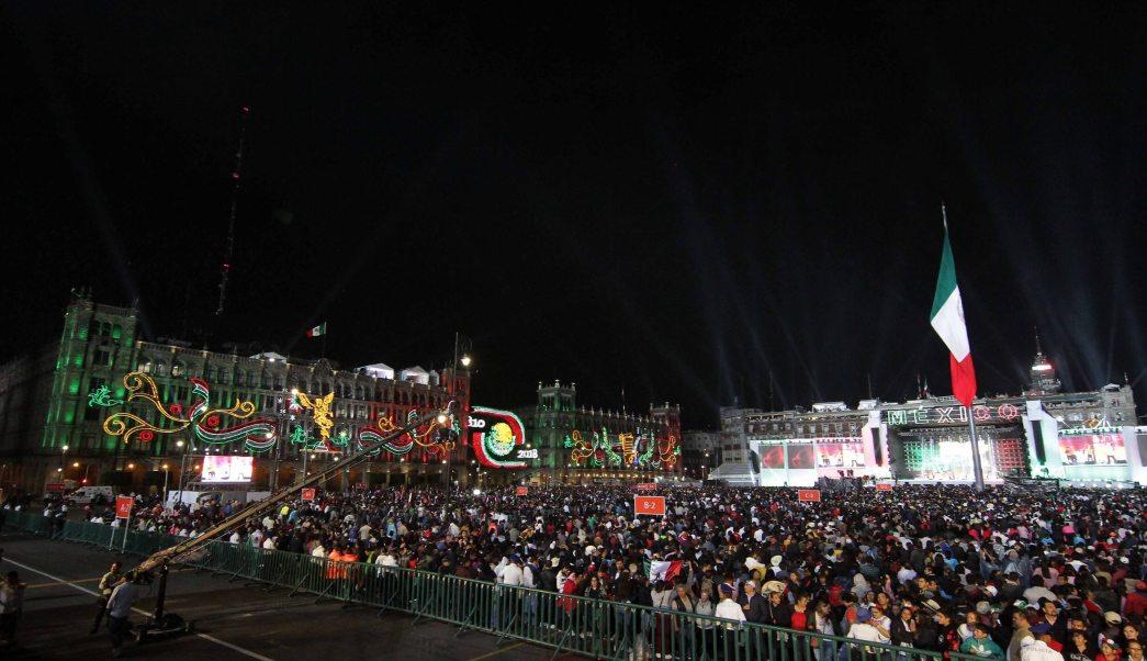 Fotos Asi celebra México el grito de Independencia