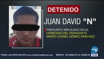 Detienen Otro Presunto Implicado Muerte Periodista
