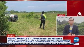 Autoridades Veracruz Alistan Identificación Restos Óseos