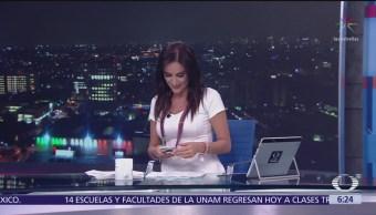 Las noticias, con Danielle Dithurbide: Programa del 7 de septiembre del 2018