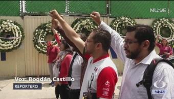 Homenaje Víctimas Colegio Enrique Rébsamen