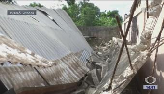 Damnificados Chiapas Denuncian Falta Apoyo